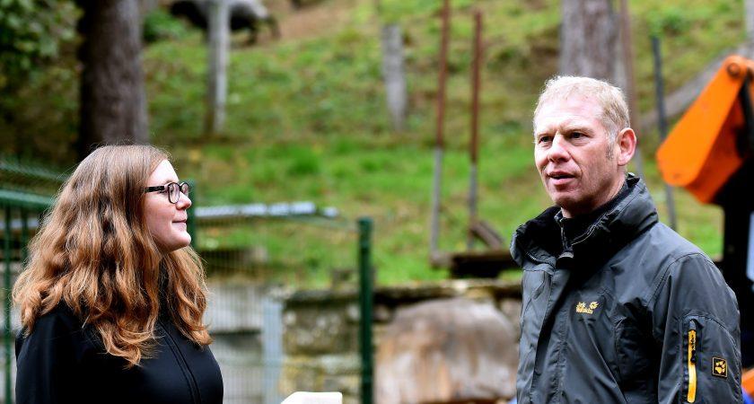 Gérard Zimmer dirige le service du patrimoine naturel de la capitale. (Photo : Isabella Finzi)