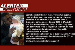"""Dans la première version de son message, le ministère français de la Justice évoquait un """"individu de race noire"""" pour décrire le suspect recherché. (photo DR)"""