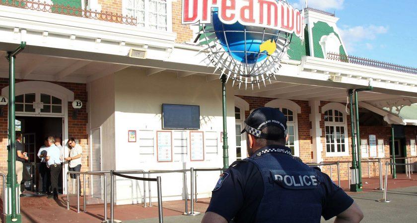 Dreamworld est le plus grand parc de loisirs d'Australie et se vante de proposer des attractions très rapides, susceptibles de faire monter l'adrénaline des visiteurs. (photo AFP)
