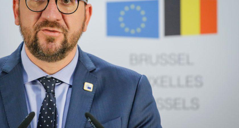 """""""On nous a demandé de donner une réponse claire aujourd'hui. La réponse claire à ce stade, c'est non"""", a asséné Charles Michel, Premier ministre belge. (photo AFP)"""