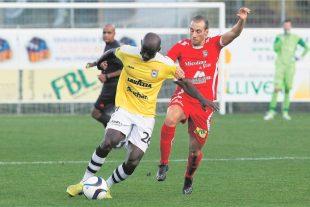 Prempeh et le F91 vont devoir contrarier l'attaque de feu du FC Differdange 03. Alors qu'Omar Er Rafik, en dedans une semaine plus tôt face au RFCU, doit une revanche. (photo Mélanie Maps)