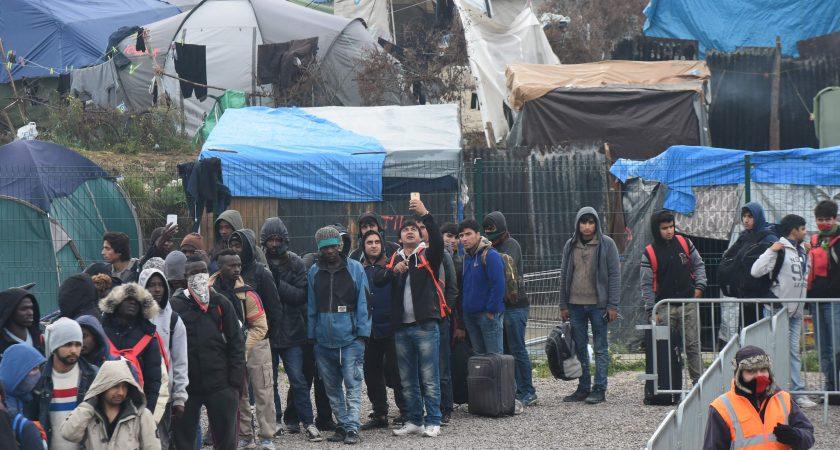 L'évacuation a démarré ce lundi matin. (photo AFP)