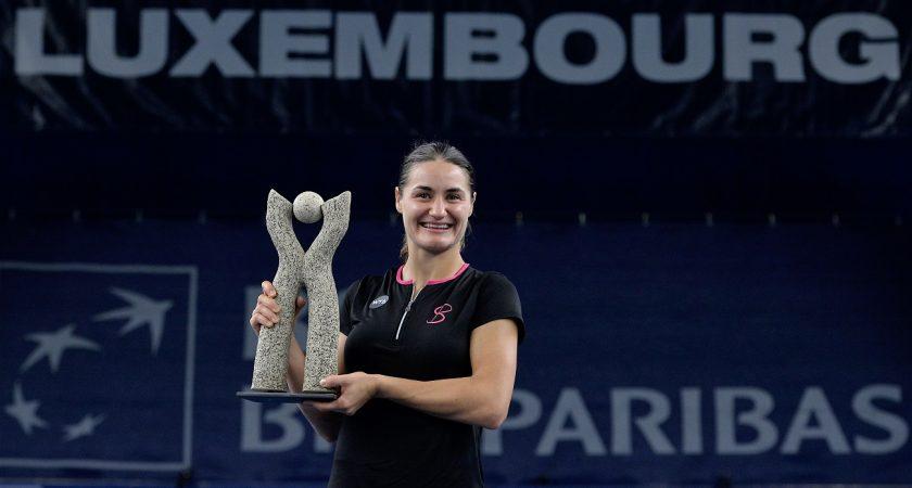 """""""C'est incroyable. Luxembourg est comme mon deuxième chez moi"""", a déclaré Monica Niculescu après sa victoire. (Photo Julien Garroy)"""