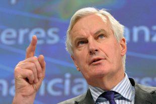 """Très discret depuis son entrée en fonction le 1er octobre, le Français Michel Barnier a réaffirmé qu'il ne s'exprimerait """"pas avant la fin"""" de ses consultations avec les 27. (photo AFP)"""