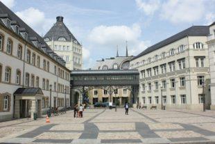 La Cité judiciaire à Luxembourg. Le procès se poursuit ce mardi après-midi avec l'audition des prévenus. (photo archives LQ)