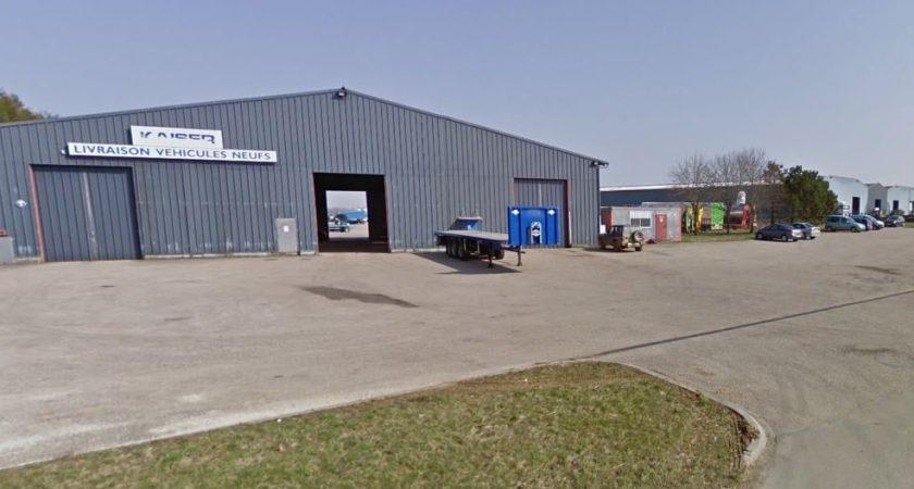 Le site de Longuyon compte près de 100 salariés. (capture Google Maps)