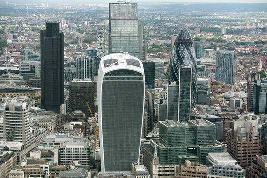 """Les grandes banques, comme les plus petites, préparent leur déménagement de la City dans la crainte d'un  Brexit """"dur"""". (illustration AFP)"""
