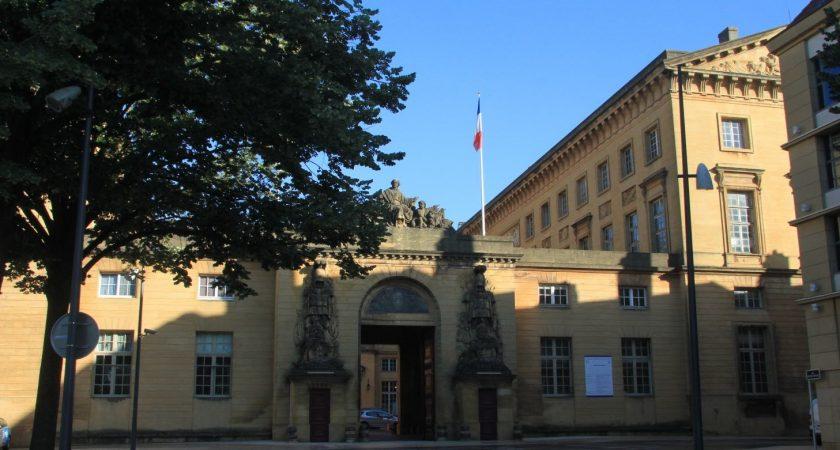 Le tribunal de Metz. (Photo : RL)