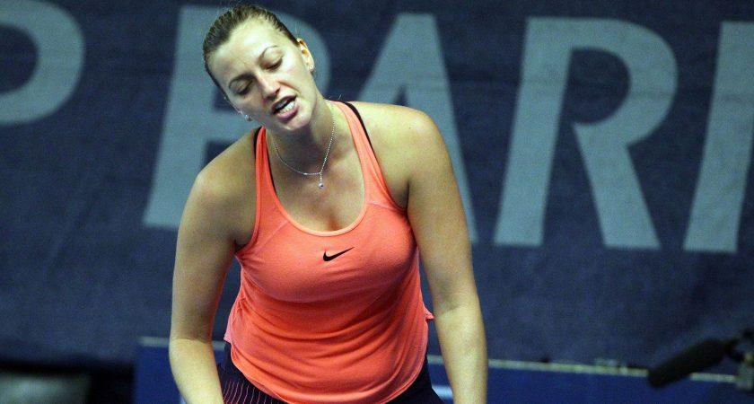 La Tchéque Kvitova affrontera ce jeudi après-midi la Suédoise Larsson, en quarts de finale du Luxembourg Open. (photo LQ)
