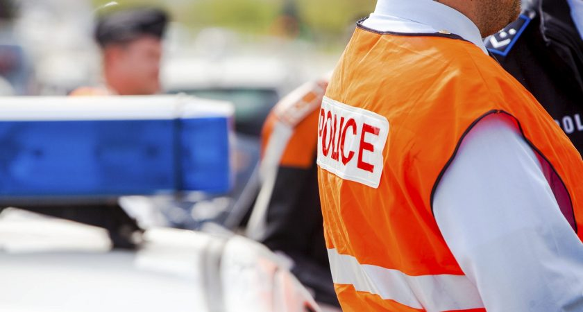 Controle Police Radar, Alzingen, Police Grand Ducale, Controle your speed
