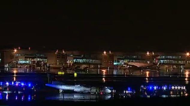 Le trafic à l'aéroport de Lisbonne a été fortement perturbé, mais aucun blessé n'est à déplorer. (capture d'écran RTP)