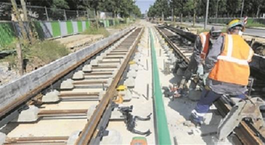 Luxtram procèdera à la construction de la plateforme du tram. (illustration Editpress)