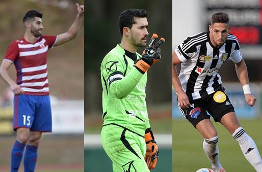 Samir Hadji (Fola), Romain Ruffier (RFCU), et Patrick Stumpf (Jeunesse) sont les trois prétendants pour le meilleur joueur du mois d'octobre.