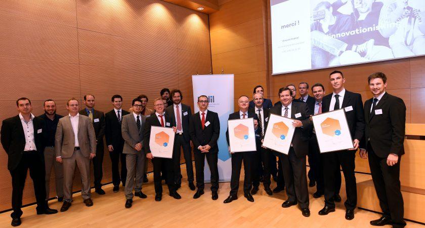 Cinq entreprises innovantes r compens es par la fedil for Chambre de commerce luxembourg cours du soir