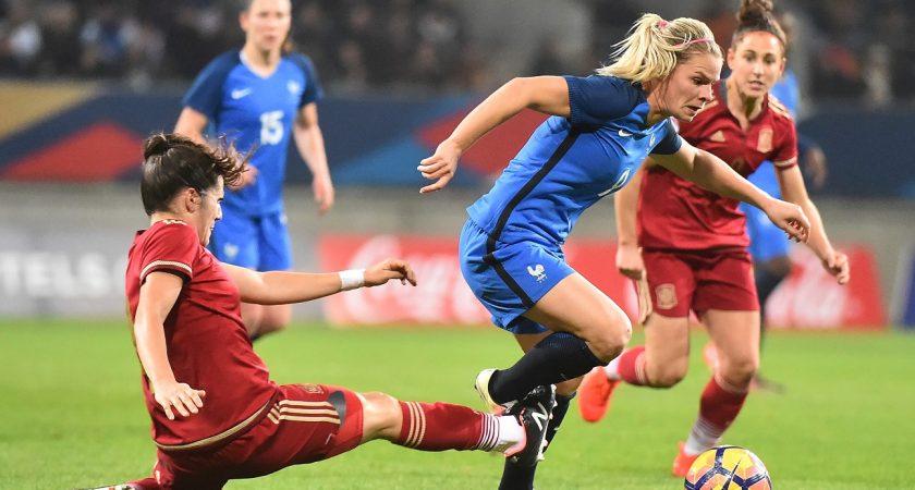 Le foot f minin en europe s 39 est largement professionnalis en quatre ans - Coupe europe foot feminin ...