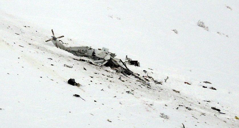 Italie : 6 morts dans le crash d'un hélicoptère de secours