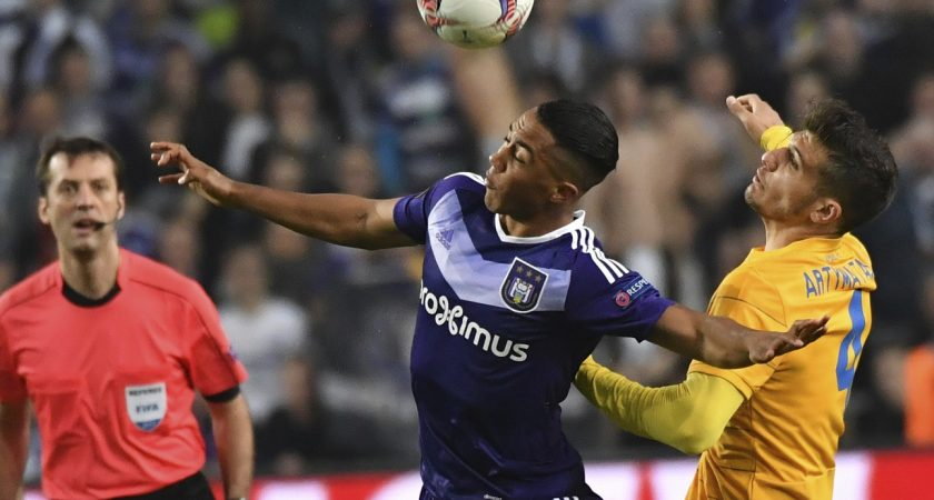 Europa League: Manchester United assure l'essentiel à Anderlecht