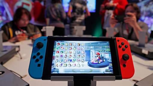 nintendo esp re vendre 10 millions de consoles switch en un an. Black Bedroom Furniture Sets. Home Design Ideas