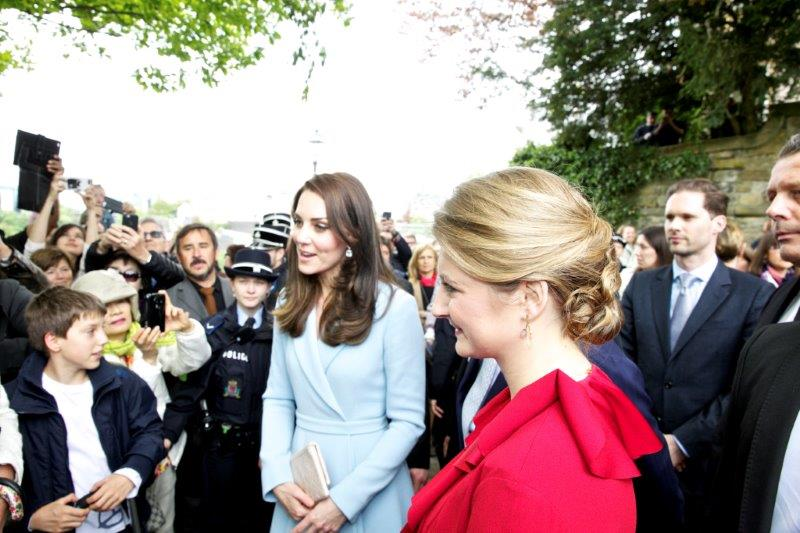 Les Photos De Kate Middleton Au Mus 233 E Dr 228 I Eechelen