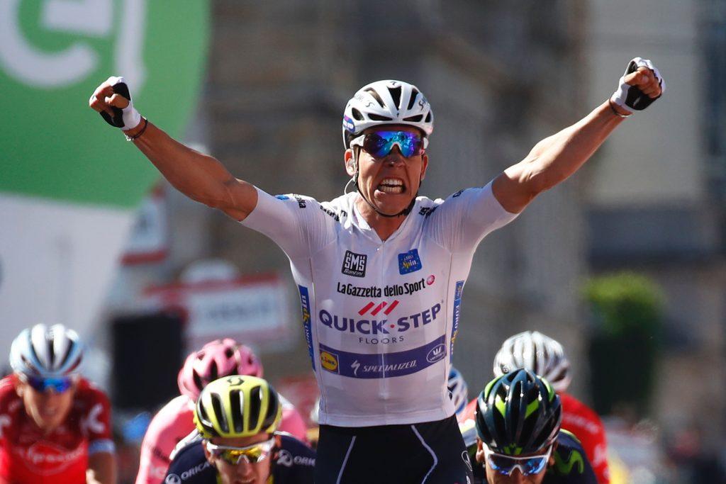 L'étape pour Jungels devant Quintana et Pinot