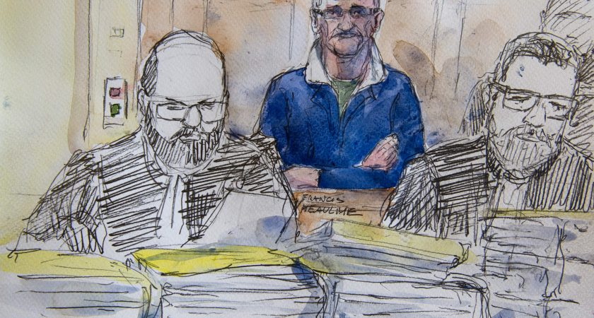 juge rayé pour le procureur datant