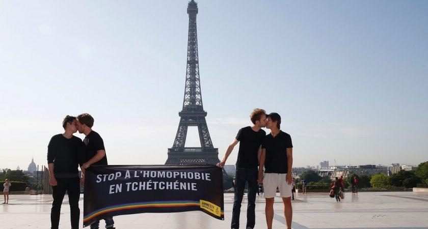 La France a accueilli le premier réfugié homosexuel tchétchène