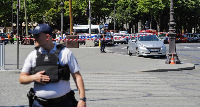 France : attentat sur les Champs-élysées