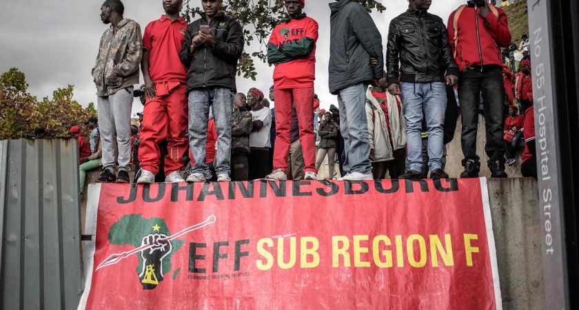 L'économie en récession — Afrique du Sud