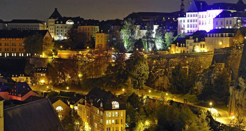 La capitale si belle de nuit aussi - Tourist office luxembourg ...
