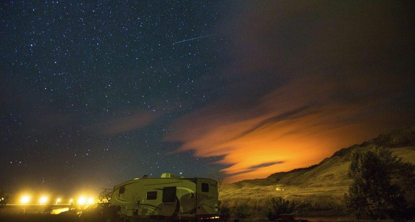 La Lune pourrait gâcher le spectacle — Pluie d'étoiles filantes