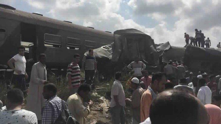 Au moins 21 morts dans une collision de trains — Egypte