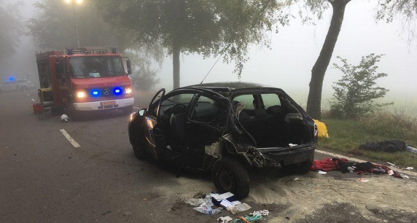 Fille tuée dans un accident de voiture