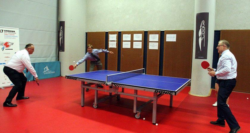 Tennis de table la coque au rythme du championnat d 39 europe - Ligue lorraine tennis de table ...
