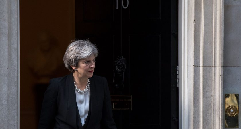 Brexit: pour divorcer, Theresa May va proposer 20 milliards d'euros à l'UE