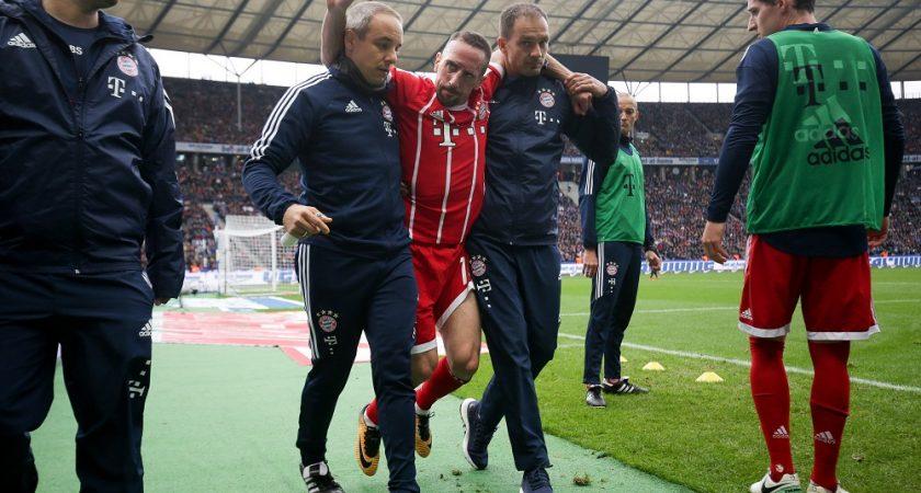 Robben préférait les entraînements de son fils à ceux d'Ancelotti — Bayern Munich