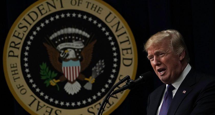 Donald Trump décerne ses