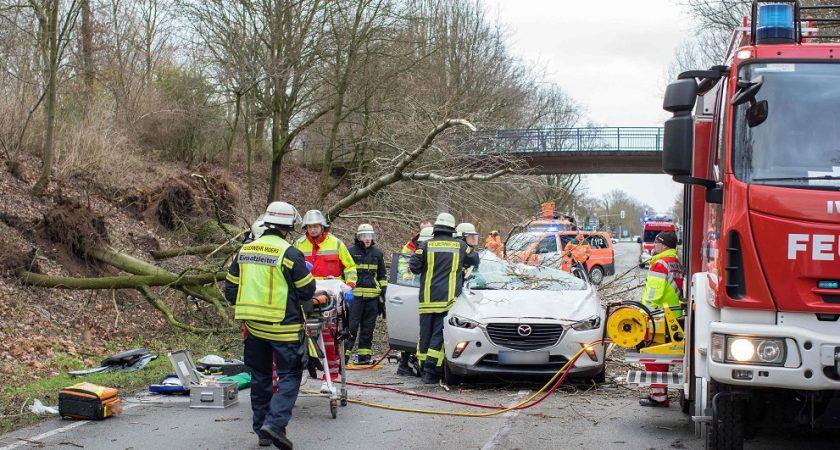 La tempête David balaie le nord de l'Europe avec des vents violents