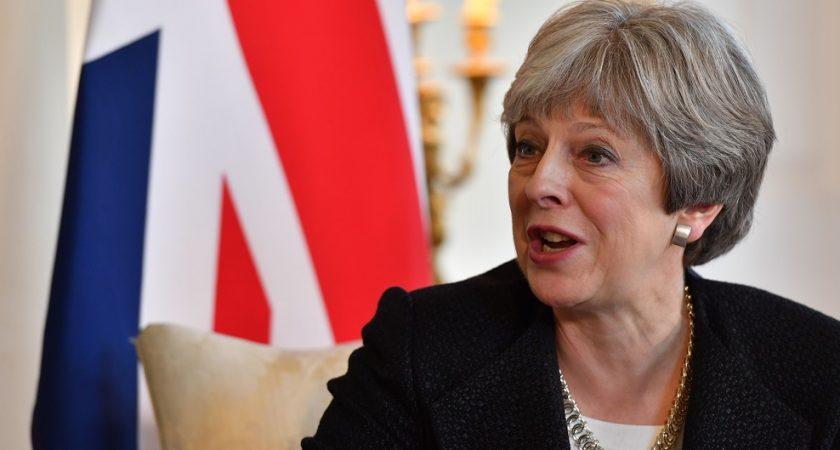 Theresa May arrive en Chine, l'après-Brexit en tête