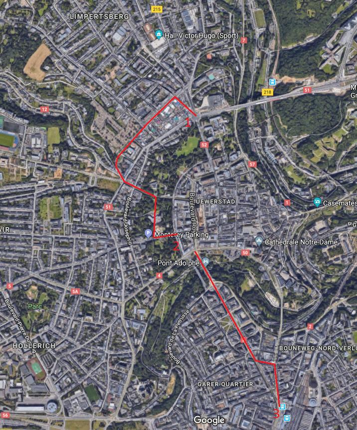 Velo A Luxembourg Les Futures Pistes Cyclables En Detail Le Quotidien
