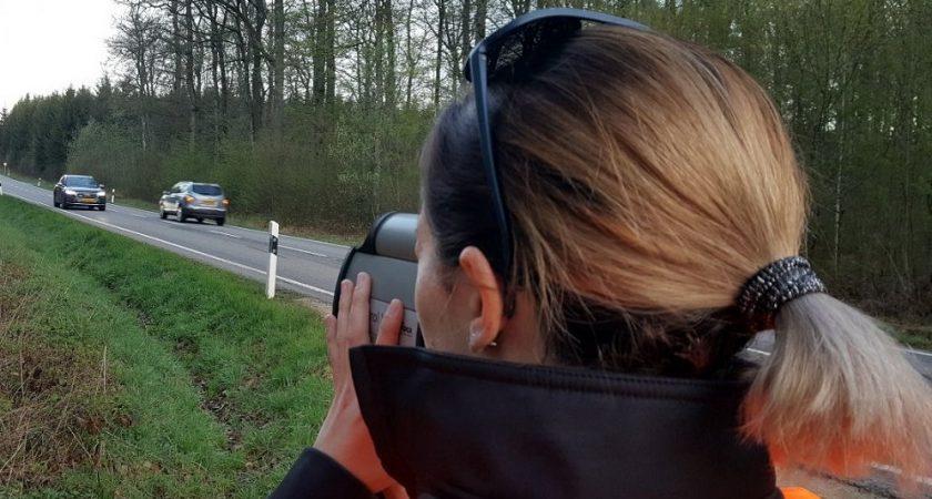 Marathon de contrôle de vitesse: près d'1,4 million de véhicules contrôlés!