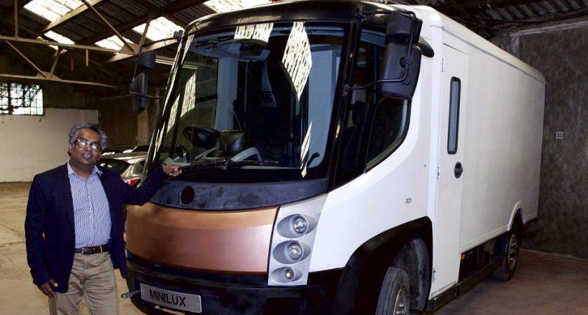 Illya Cadivel ambitionne de révolutionner la mobilité électrique depuis le Luxembourg (Photo : François Aussems).