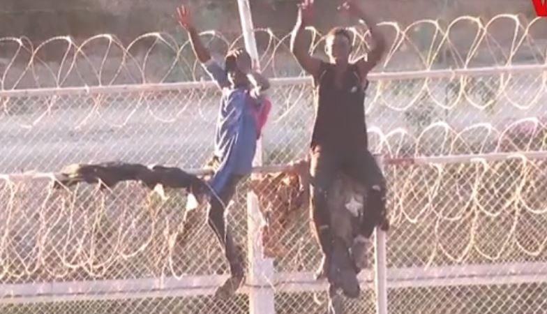 Du Maroc à Ceuta, la grande évasion des migrants
