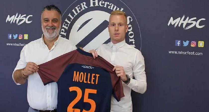 Maillot Domicile MONTPELLIER Florent MOLLET