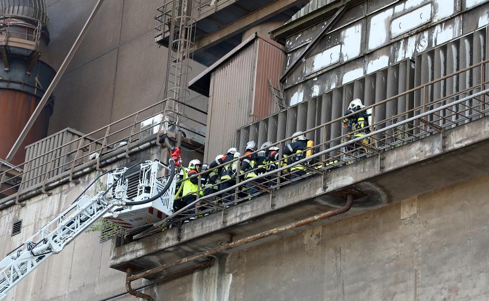 Incendie sur le site d'ArcelorMittal au Luxembourg