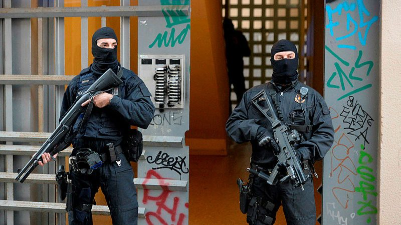 Opération anti-terroriste d'envergure à Barcelone