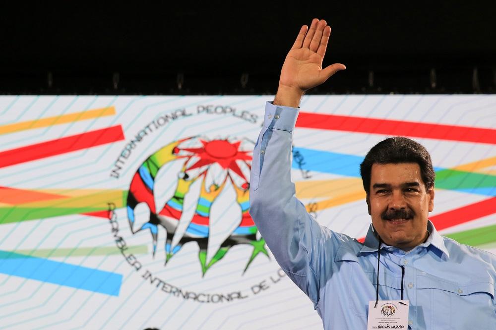 Le président élu, Nicolas Maduro, le 26 février à Caracas, capitale du Venezuela. (Photo : AFP)