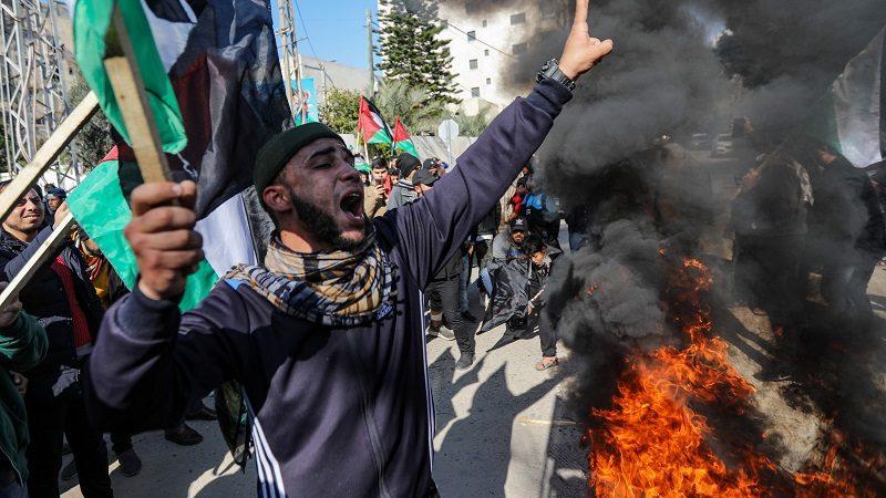 Trump dévoile le plan de paix américain pour le conflit israélo-palestinien